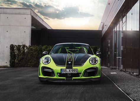 Techart Gtstreet R Porsche 911 Turbo S 991 Modcarmag