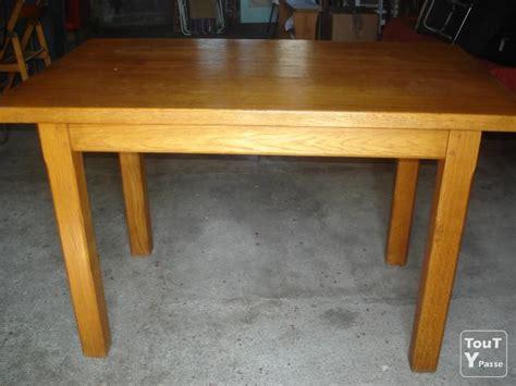 table cuisine chene table de cuisine en chêne massif centre