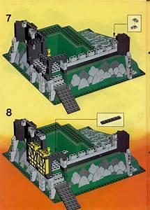 Lego 6086 Black Knight U0026 39 S Castle Instructions  Castle