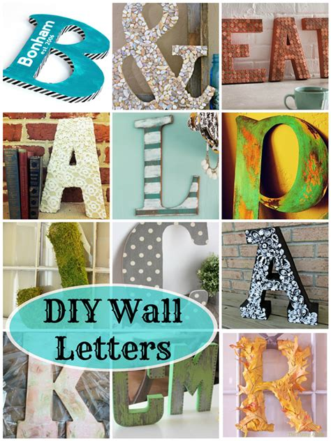 diy wall letters  awesome projects deja vue designs