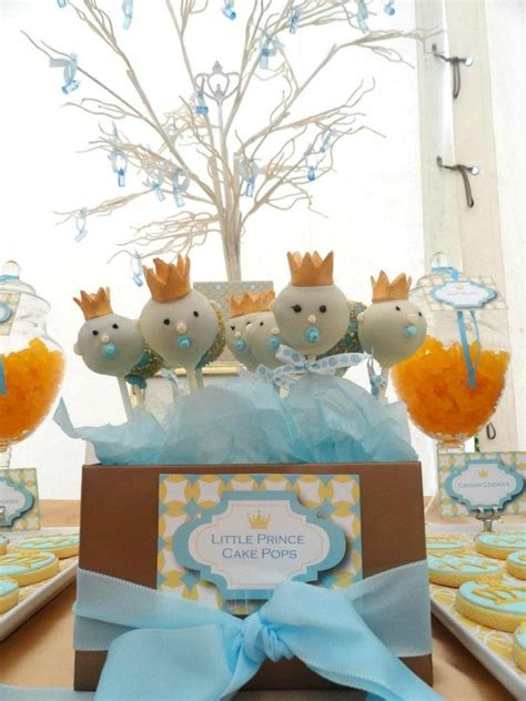 baby boy prince theme prince baby shower theme baby shower little prince theme cake pops by theme my party