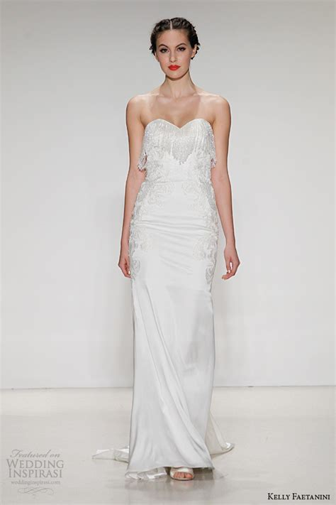 kelly faetanini fall  wedding dresses wedding inspirasi