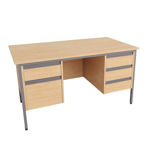 what is a double pedestal desk double pedestal desk 2 3 drawer
