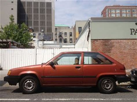 hatchback cars 1980s 1982 toyota tercel three door hatchback cars and such