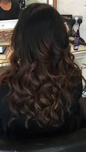 Ombré Hair Marron Caramel : image result for balayage for black hair hair i want ~ Farleysfitness.com Idées de Décoration