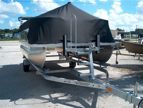 Tritoon Boat And Trailer Weight by Single Axle Pontoon Trailer Weight Shin Ae Ra And
