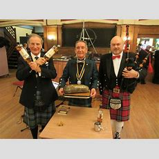Burns Night Celebration Also Helps New Charity « Rotary District 1220