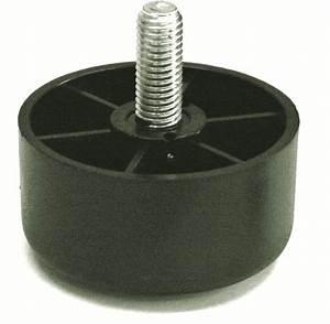 Tige Filetée M10 : pied poly thyl ne 50 mm tige m10 19100 nos produits ~ Edinachiropracticcenter.com Idées de Décoration