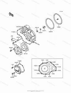 Kawasaki Motorcycle 1995 Oem Parts Diagram For Engine