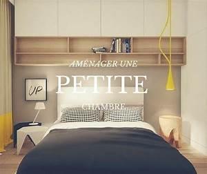 Deco Petite Chambre Adulte : comment am nager une petite chambre soo deco sur le blog pinterest chambres minuscules ~ Melissatoandfro.com Idées de Décoration