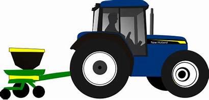 Tractor Clip Clipart Deere John Tractors Farm