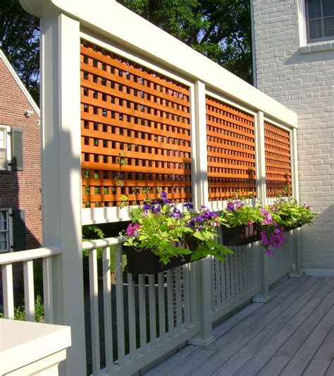 Backyard Screening Options by A Privacy Makes For Neighbors Petro Design
