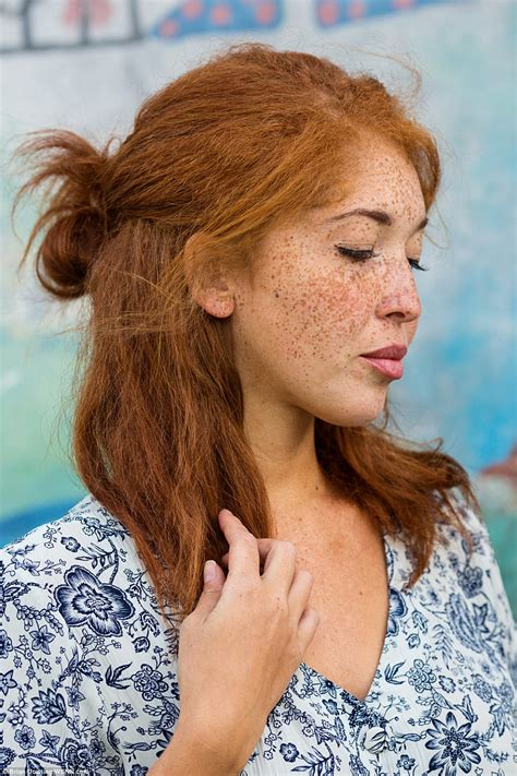 Photographer's portraits of 130 beautiful redhead women   Daily Mail Online