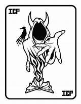 Insane Hatchet Coloring Liberal Clow Sampler Getdrawings Clown Posse Drawing Sketch Template sketch template