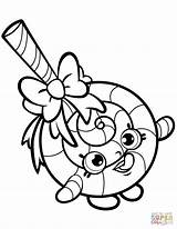 Coloring Lips Lippy Shopkins Printable Prismacolor Markers Kimmi Clown Kooky Cookie Giant sketch template