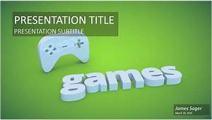 game controller powerpoint template 9822 free game With video game powerpoint template