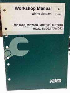Volvo Penta Workshop Manual Wiring Diagram P  N 7740536