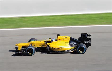 Formel 1 Rennwagen Renault R S 16 Demo Vorf 252 Hrung Bei
