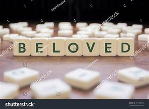 Beloved Word On Block Concept Stock Photo 497488579 ...
