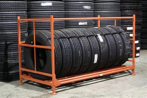 Used Tire Storage Racks