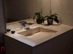 plans de toilette pour votre salle de bain gammes de With salle de bain design avec vasque granit