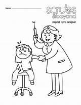 Nurse Coloring Doctor Tools Eye Preschool Drawing Hammer Scrubs Nurses Printable Getdrawings Getcolorings Kindergarten Tupac Wonderful Children Drawings Beyond Paintingvalley sketch template