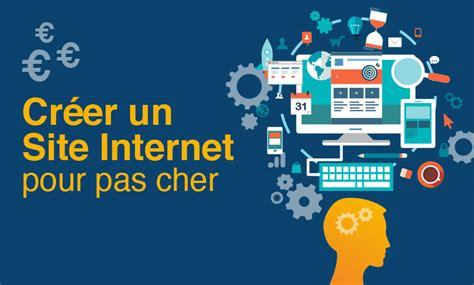 Créer Un Site Internet Pour Pas Cher