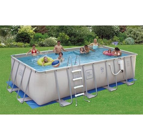 Proseries™ Soft Sided Metal Frame Above Ground Pool  Pc Pools
