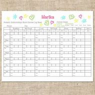 Best 25 ideas about printable log sheets find what youll love diabetes blood sugar log sheet printable pronofoot35fo Images