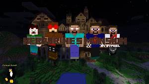 Herobrine39s Mansion Poster Minecraft Blog