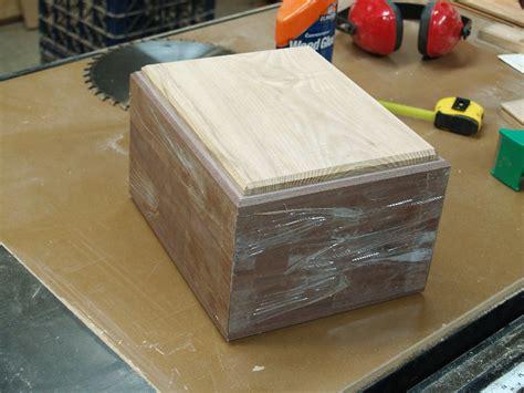 making  crematory urn box part  finewoodworking