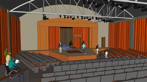 dedicated theatre building concept doane university