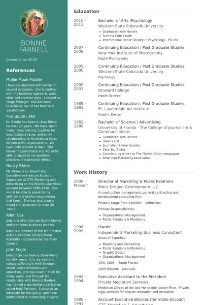 Director Of Marketing Resume by Director Of Marketing Relations Resume Exle