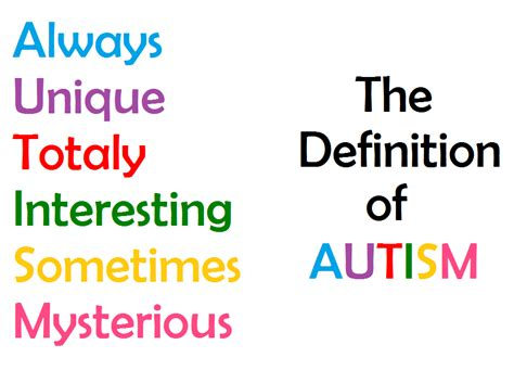 the definition of autism by howlinghill on deviantart