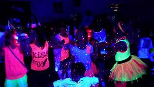 Shania's 12th Birthday Neon Glow - Video Disco - YouTube