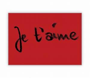Ich Weiß Französisch : sagen sie auf franz sisch ich liebe dich je t 39 aime grusskarten onlineshop ~ Watch28wear.com Haus und Dekorationen