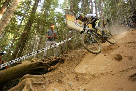Biking Downhill Mountain Bikes