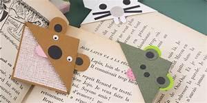 Marque Page En Papier : r aliser un marque page en forme d animaux marie claire ~ Melissatoandfro.com Idées de Décoration