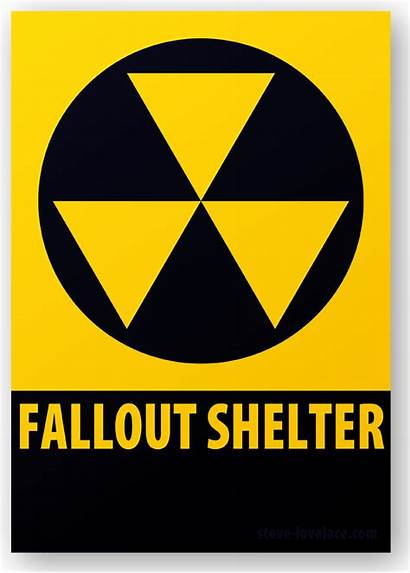 Shelter Fallout Sign Steve Lovelace April