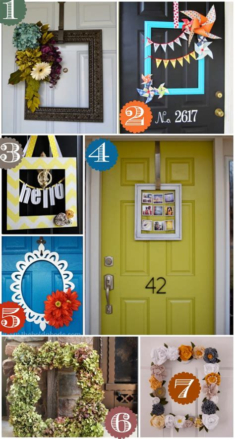 door frame decor 36 creative front door decor ideas not a wreath home stories a to z