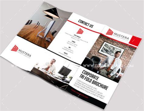 tri fold brochure template photoshop cs4 50 free premium psd business flyers brochures