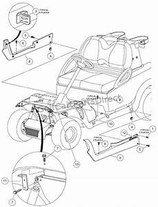 Floormat  Retainer  And Front Underbody - Style B