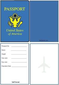 Printable Passports Activity