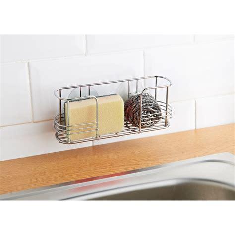 kitchen sink caddy suction sink caddy black kitchen storage accessories 2604