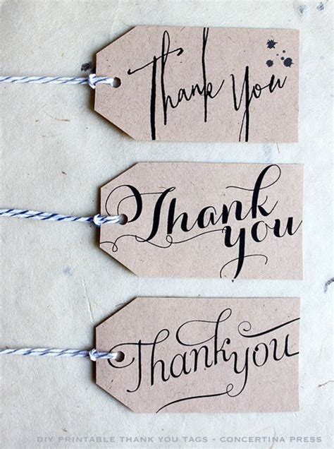 best 25 thank you tags ideas on pinterest font tag