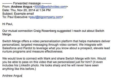 Sales Prospecting Emails 4 Great Examples