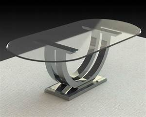 oval-glass-dining-table-Dining-Room-Contemporary-with
