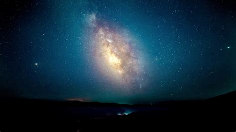 Download Starry Sky Night Out Milky Way Night Wallpaper