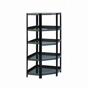 Craftsman, Corner, Steel, Shelving, Unit, Platinum