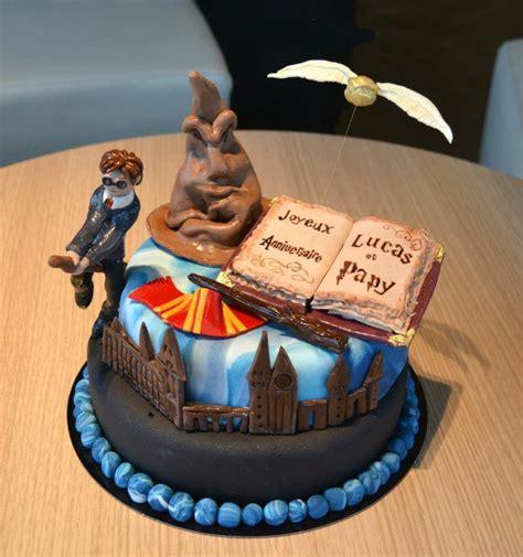 gateau anniversaire licorne harry potter gateaux  biscuits
